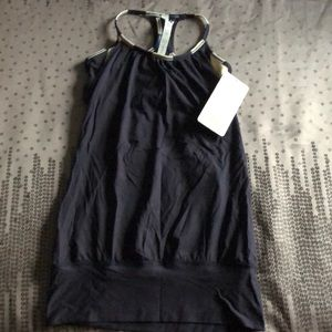 Lululemon No Limits Tank in navy